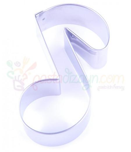 Müzik Notası Kurabiye Kalıbı,5-9cm