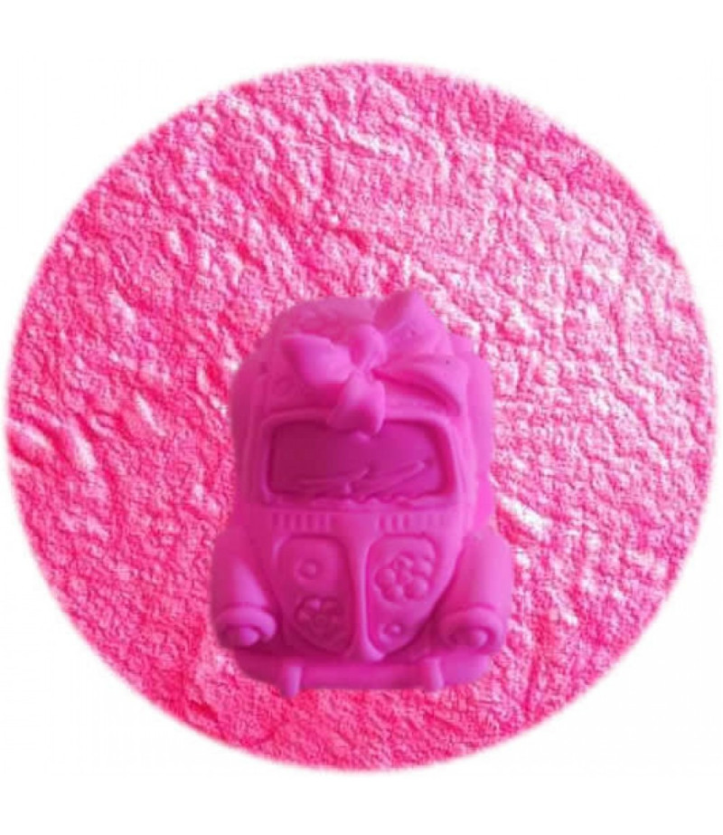 Neon Pembe Renk Kokulu Taş Tozu,1kg