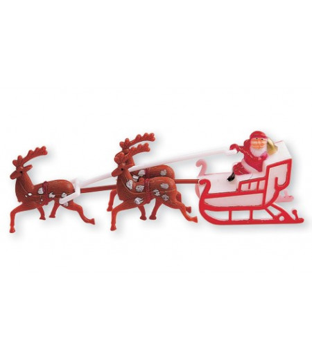 Noel Baba Ve Geyikleri, Pasta Üstü Süslemesi
