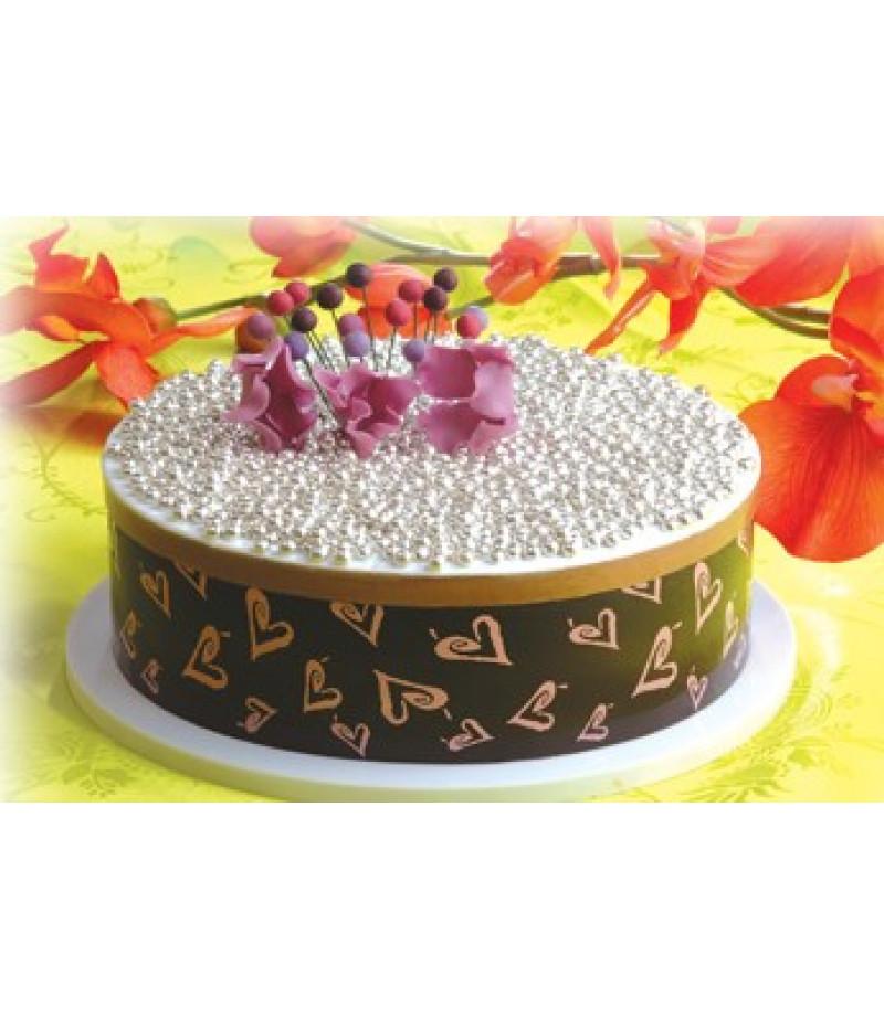 Ayarlı Yuvarlak Pasta Çemberi