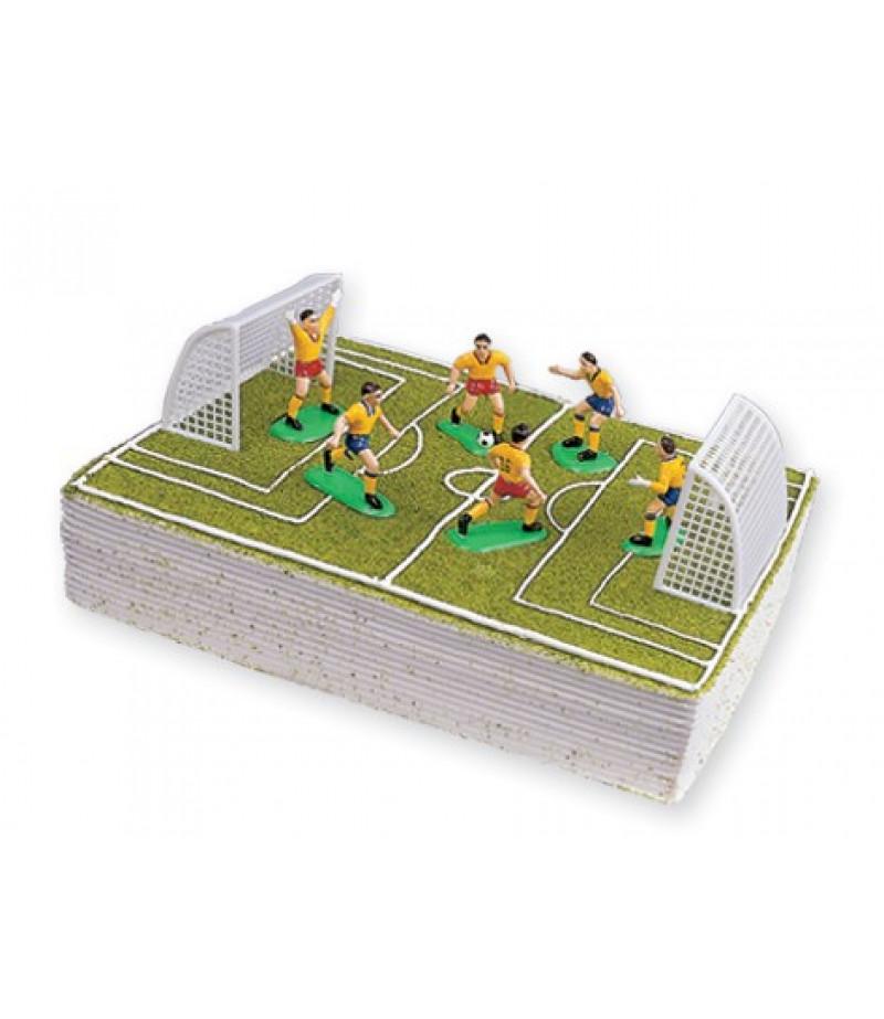 Galatasaray Futbol Takımı Süsü(6 futbolcu,2 Kale)