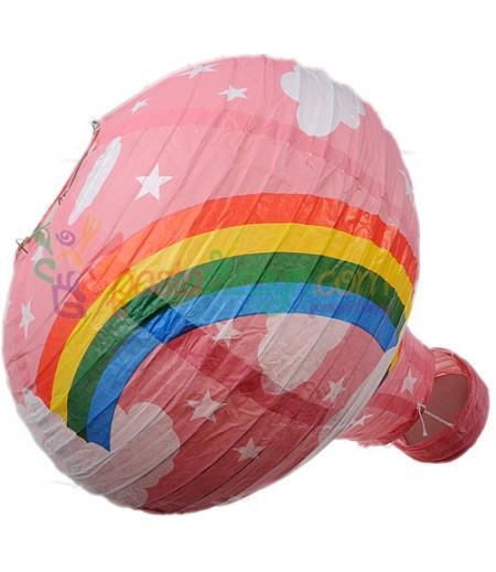 Pembe Renk Balon Avize Büyük Parti Feneri
