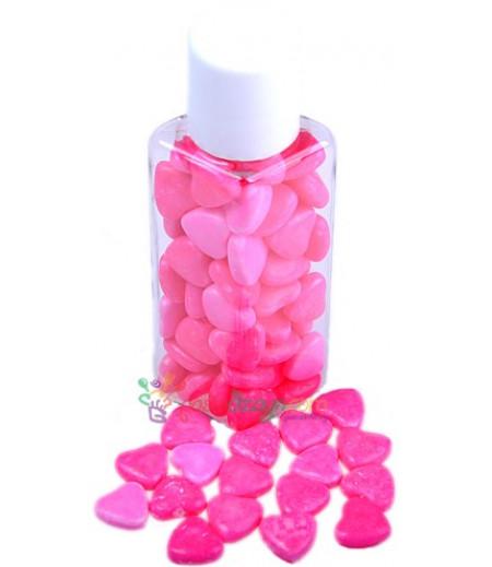 Pembe Renk Kalpli Yenilebilir Drajeler,30gr