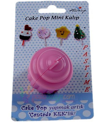 Plastik Cupcake Şekilli Pop Kek Kalıbı