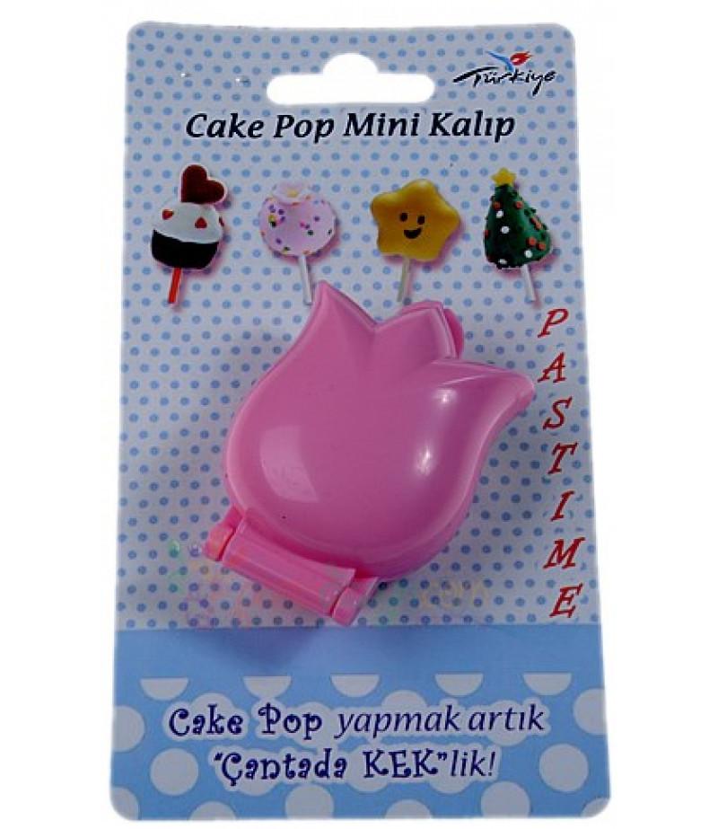 Plastik Lale Şekilli Pop Kek Kalıbı