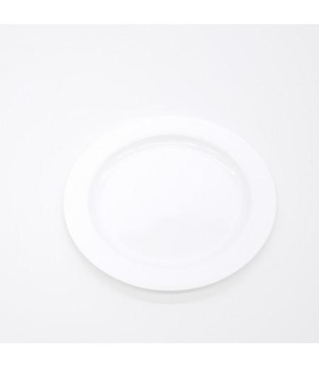 Plastik Tabak 10 lu Beyaz 19 cm