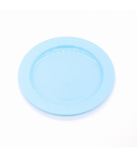 Plastik Tabak 10 lu Mavi 19 cm