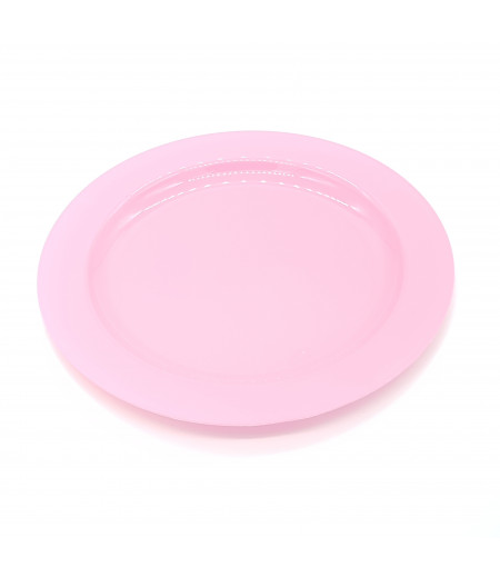 Plastik Tabak 10 lu Pembe 26 cm