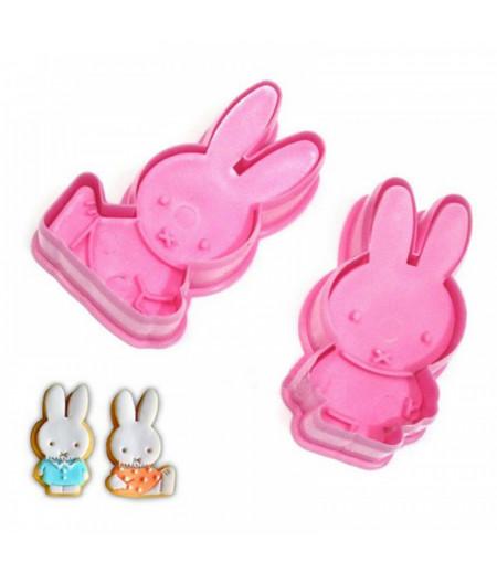 Plastik Tavşan Kurabiye Kalıpları
