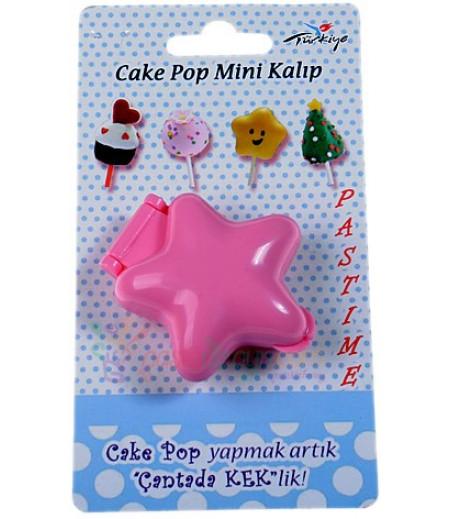 Plastik Yıldız Şekilli Pop Kek Kalıbı