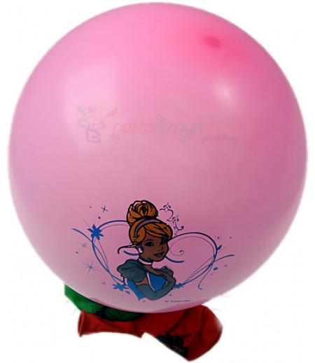 Prenses Renkli Balon Seti,12 Adet