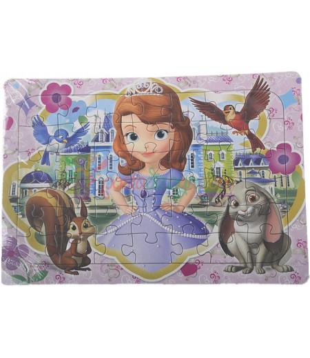 Prenses Sofia Görselli Puzzle