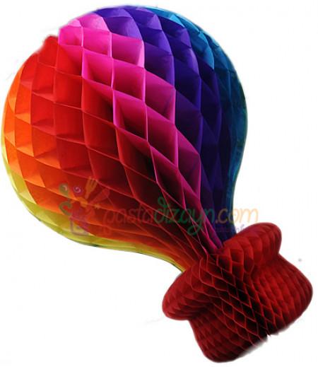 Rengarenk Büyük Balon Asma Süslemesi