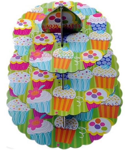 Rengarenk,Muffins Temalı Sunum Stand