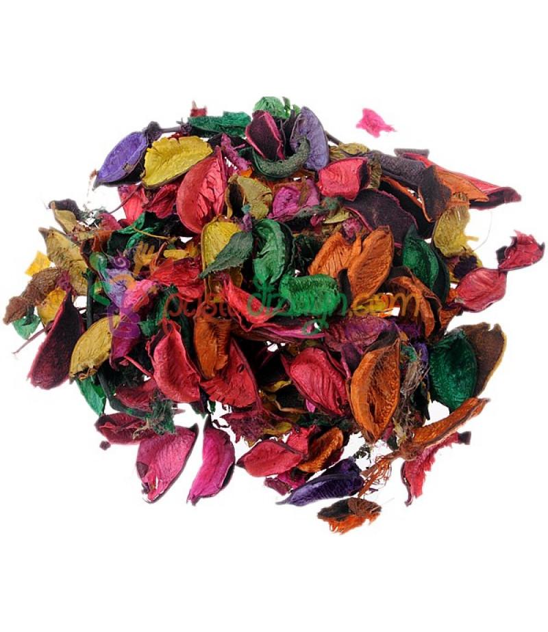 Renkli,Kokulu Kurutulmuş Çiçekler,100gr