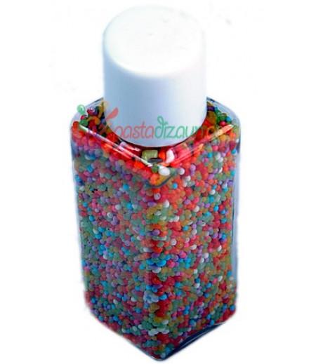 Renkli Mini Top Süsleme Şekerleri,30gr