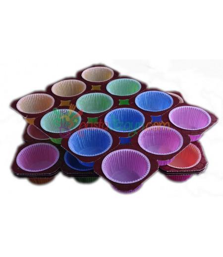 Renkli Yağlı Kapsüller,Tek Kullanımlık,12 Adet