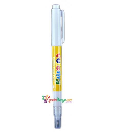 Sarı Renk Gıda Kalemi,Çift Uçlu
