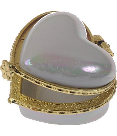 Sedefli Kalpli Mini Porselen Şekerlik,Adet