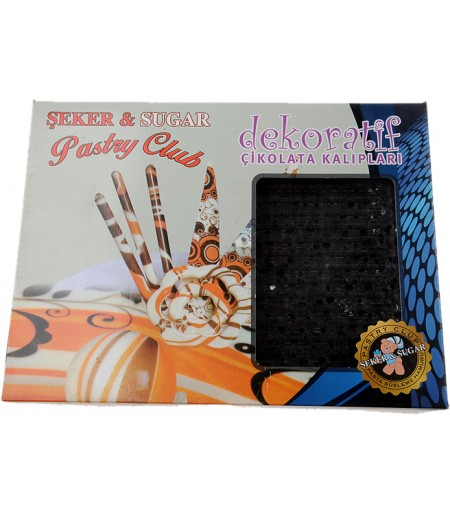 Dekoratif Çikolata Kalıpları,Paket -4