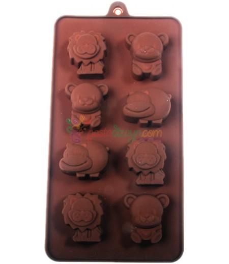 Sevimli Hayvanlar Çikolata,Sabun Kalıpları