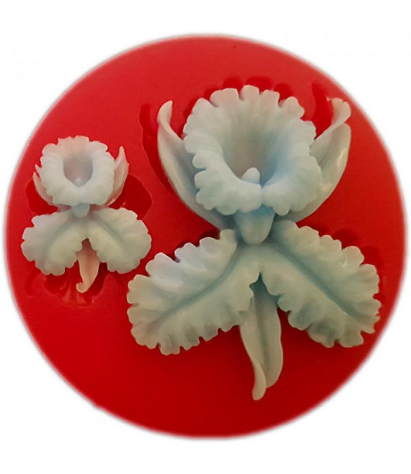 Silikon Çiçek ve Yaprak Kalıbı-1