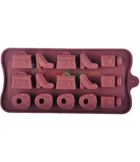 Bayan Ayakkabi,Canta,Çikolata,Sabun Kalibi