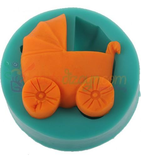 Silikon Bebek Arabası Kalıbı-3