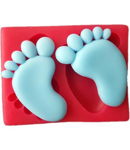 Silikon Bebek Ayakları Kalıbı