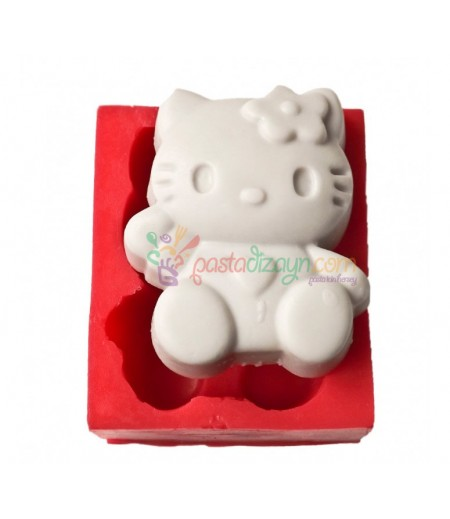 Hello Kitty Figürlü Silikon Kalıp