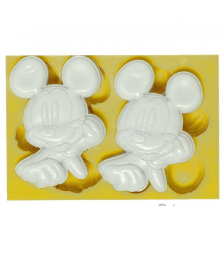 Silikon Ikili Mickey Mouse Kaliplari