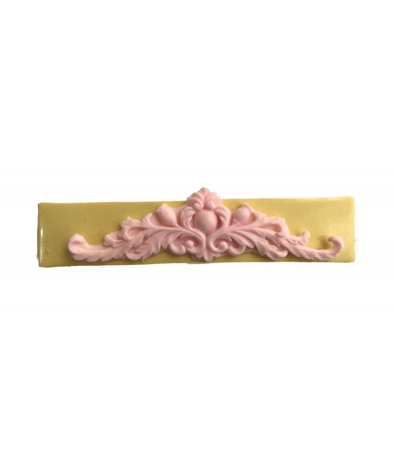 Silikon Pasta,Sabun,Kokulu Taş Dekoratif Kenar Kalıbı -12