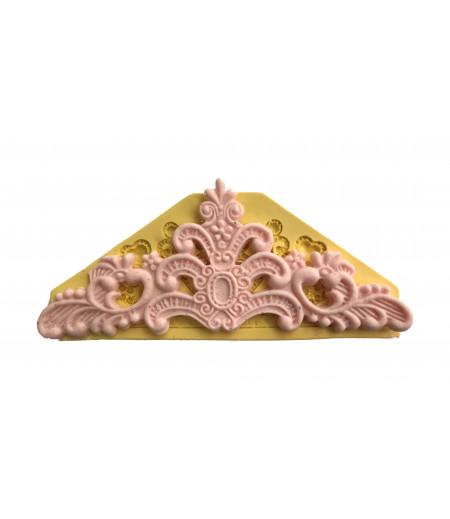 Silikon Pasta,Sabun,Kokulu Taş Dekoratif Kenar Kalıbı -4