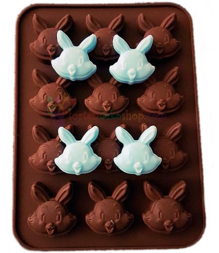 Silikon Sevimli Tavşan Kalıpları