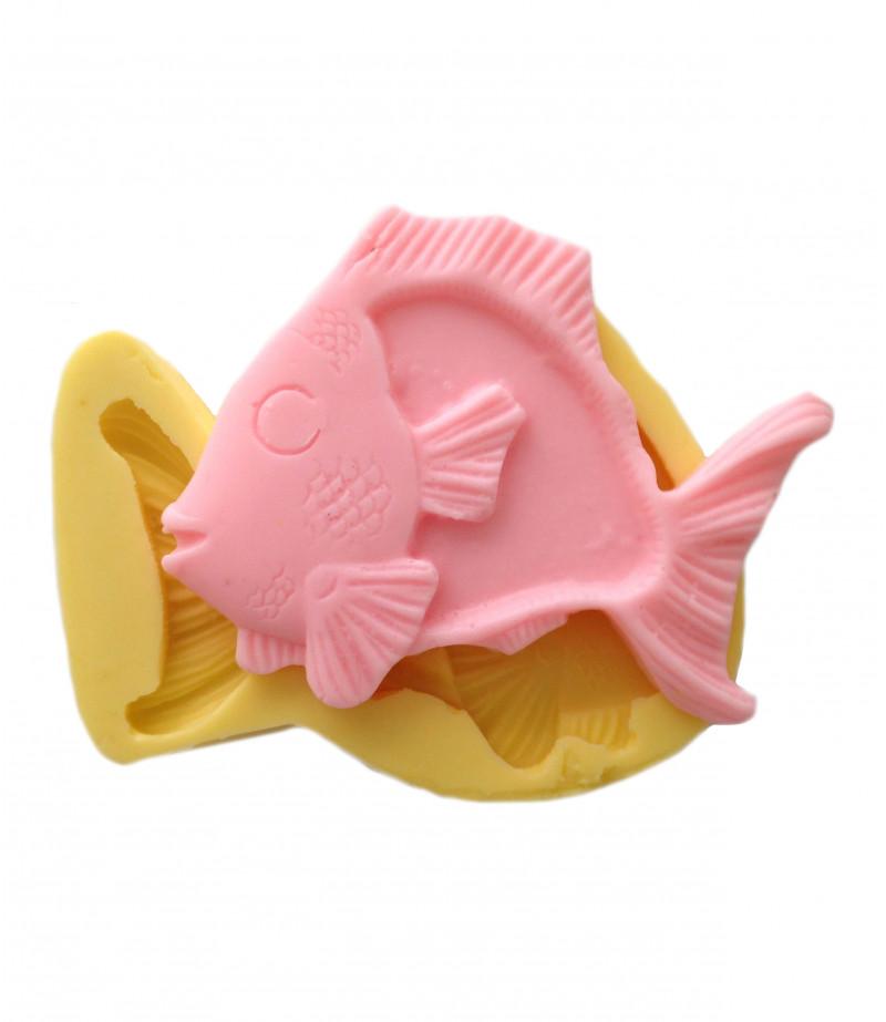 Silikon Tropikal Balık Kalıbı