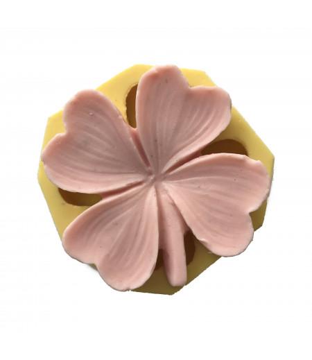 Silikon Yonca Çiçeği Kalıbı