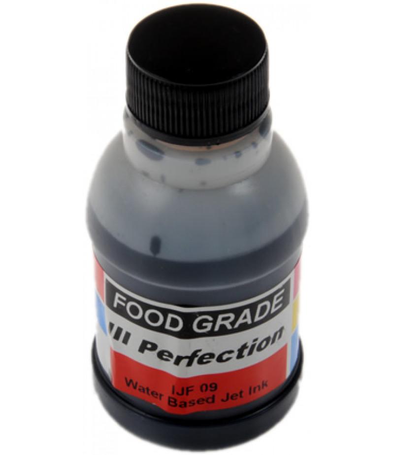 Siyah Renk Gıda Printer Boyası,100gr