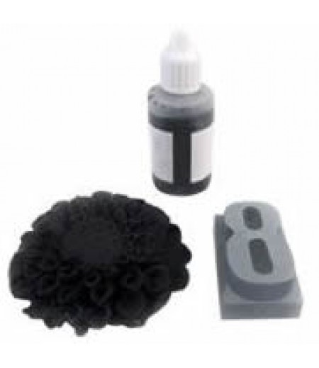 Siyah Renk Sabun,Kokulu Taş Boyası,40gr