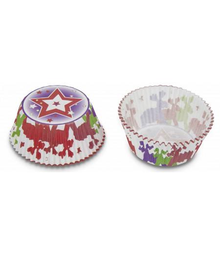 Stadter,Geyikler Temalı Muffin Kapsülü,50 Adet,5x3cm