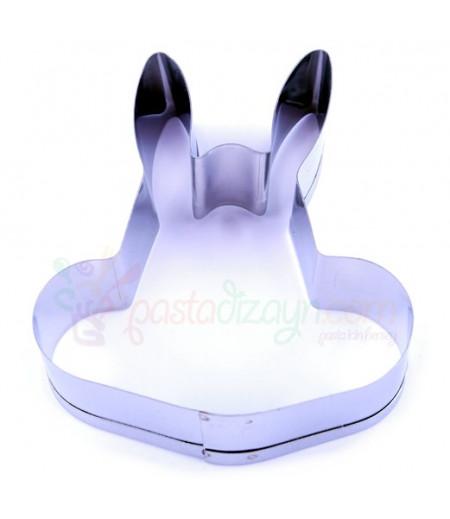 Tavşan Kurabiye Kalıbı,10cmx4cm