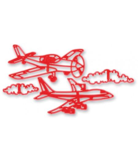 Uçak Figürlü Patchwork