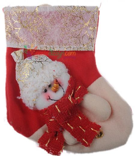 Yılbaşı Çorabı Süslemesi-1
