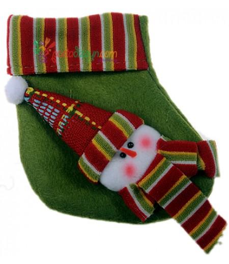Yılbaşı Çorabı Süslemesi-2