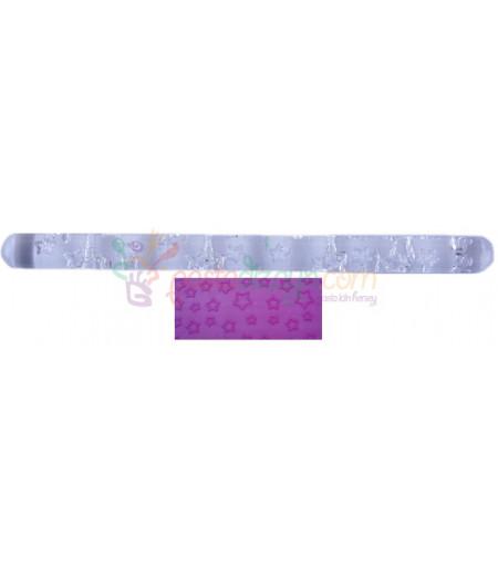 Yıldız Temalı Kalem Merdane,16.5 cm