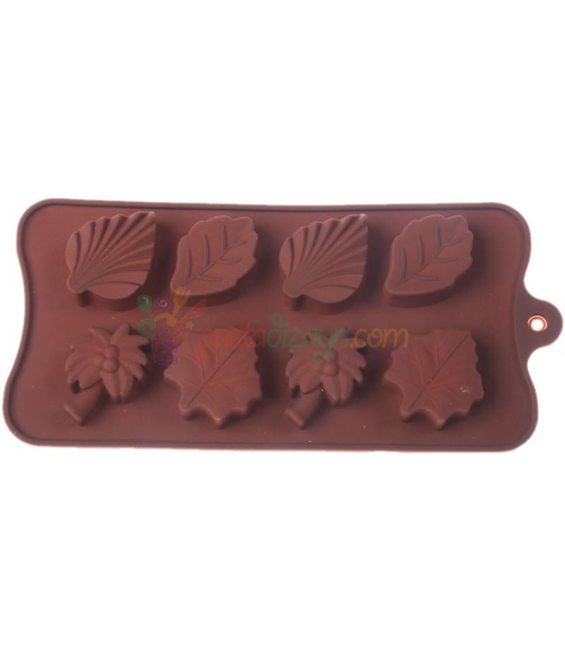 Yaprak ve Ağaç,Sabun,Çikolata Kalıbı