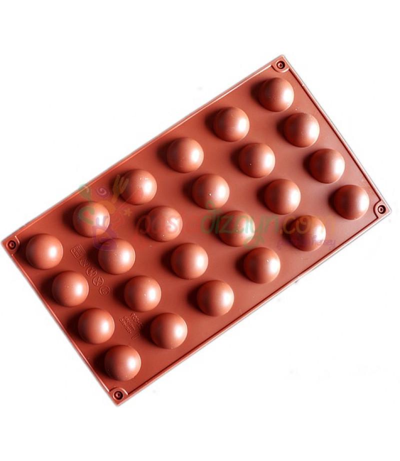 Yarım Dünya Mini Çikolata,Sabun Kalıpları
