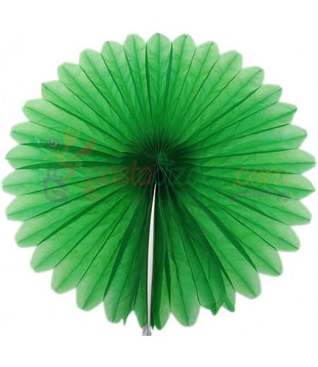 Yeşil Renk Küçük Yelpaze Parti Feneri