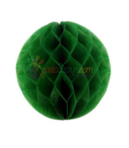Yeşil Renk Petek Parti Süslemesi,15cm