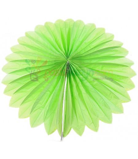 Yeşil Renk Yelpaze Parti Feneri