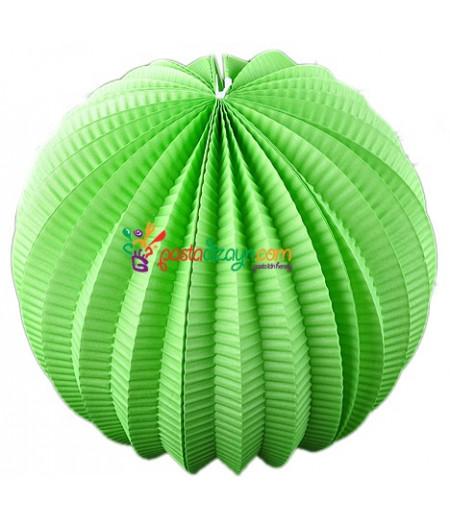 Yeşil Renk Yuvarlak Parti Feneri
